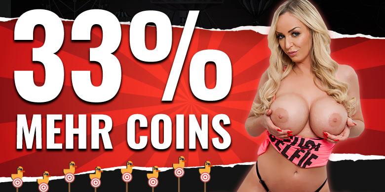 33% mehr Coins