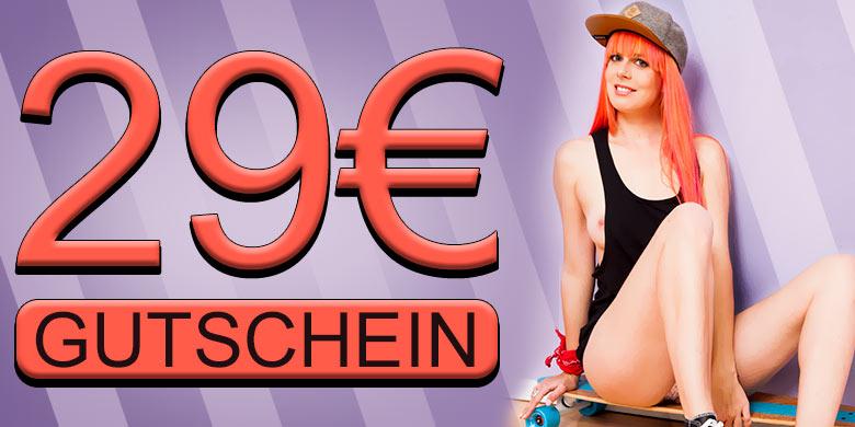 Sparangebot: 29,- EUR Gutschein