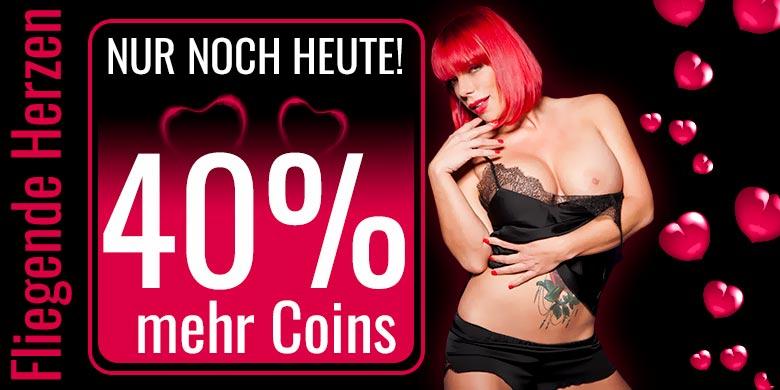 Nur noch Heute! 40% mehr Coins