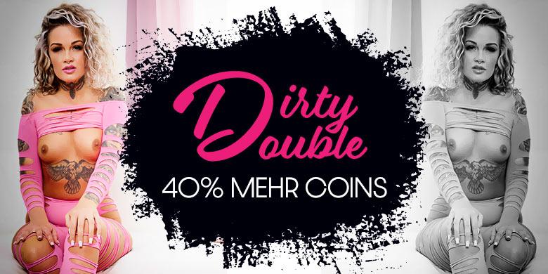Spiele und gewinne beim Dirty Double 40% mehr Coins