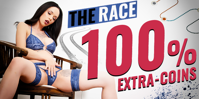 The Race: 100% Extra-Coins