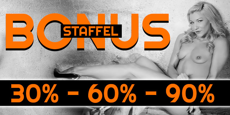 Die Bonus-Staffel ist wieder da: 30% - 60% - 90%